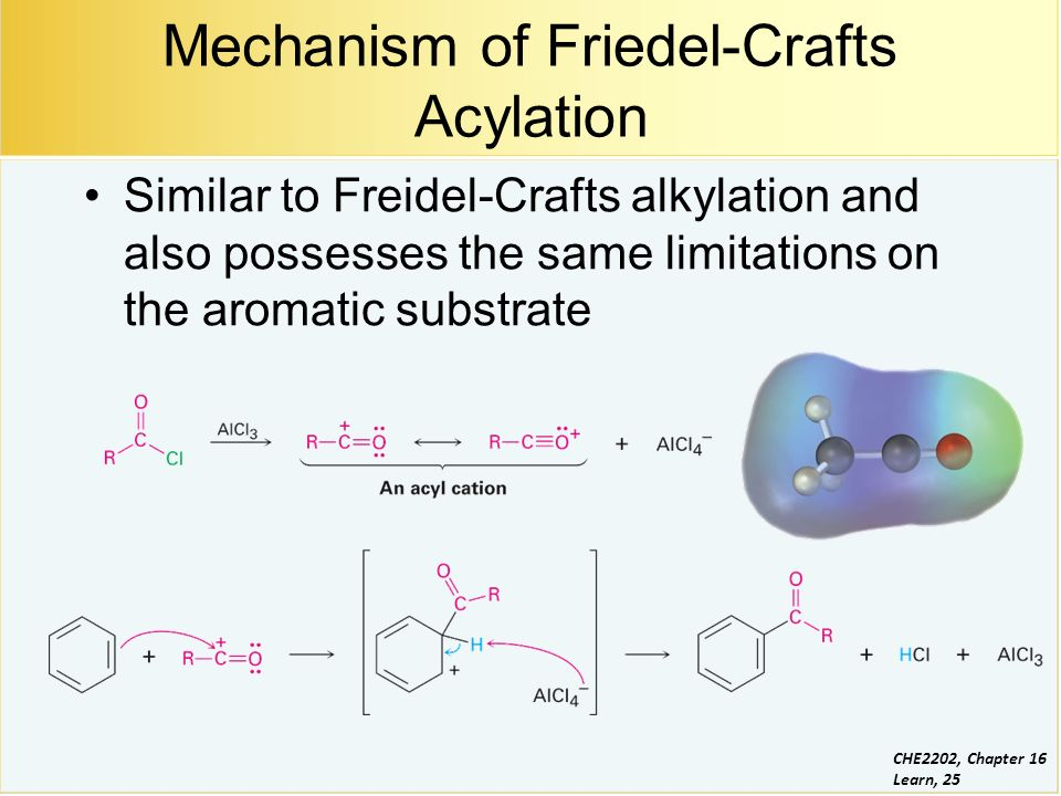"""friedel crafts acylation synthesis of Two of the most powerful tools of the organic chemist are the friedel-crafts alkylation reaction and the friedel-crafts acylation reaction here, decoded science presents two sample syntheses for clarity a simplistic definition of organic chemistry is """"the chemistry of carbon"""" there are."""