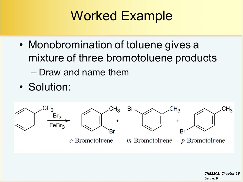 why do aromatic rings react differently from alkenes essay Modules must follow the template pattern below in both structure and terminology and must include  all the items listed below 1 title of module.