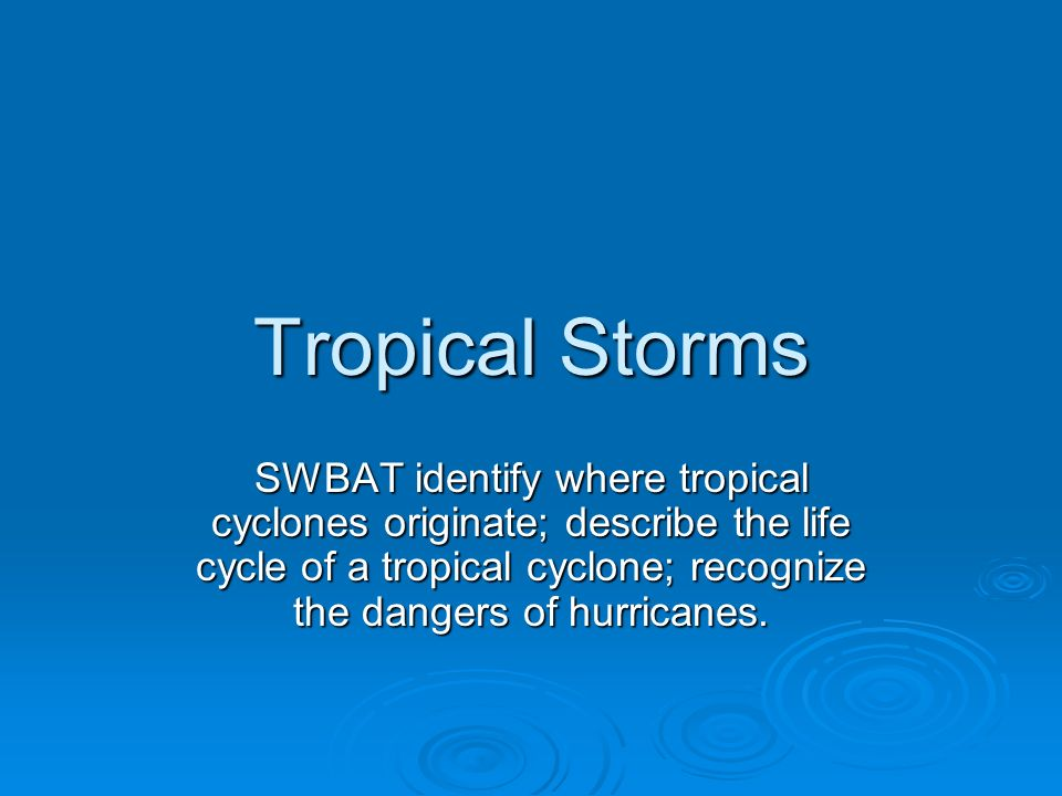 the hazards presented by tropical storms A new study finds hazardous tropical cyclones in the philippines are  by  analysing this data from the past up to the present, we can better.