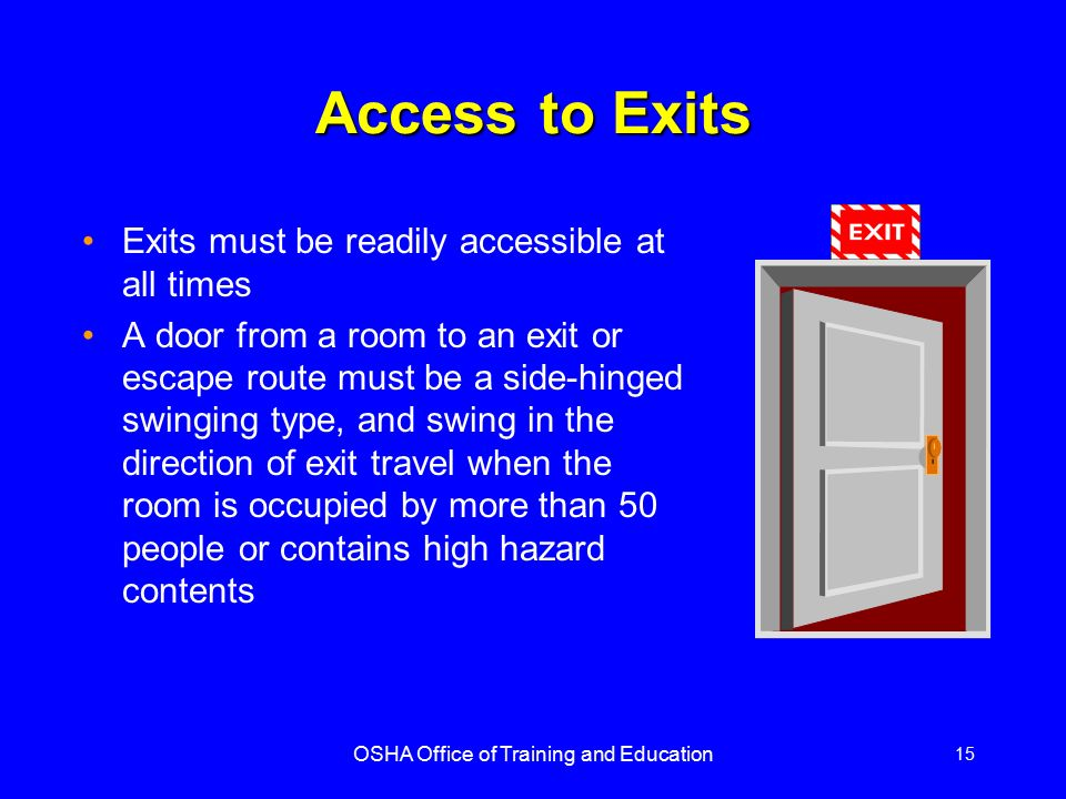 Means Of Egress And Fire Protection Ppt Video Online