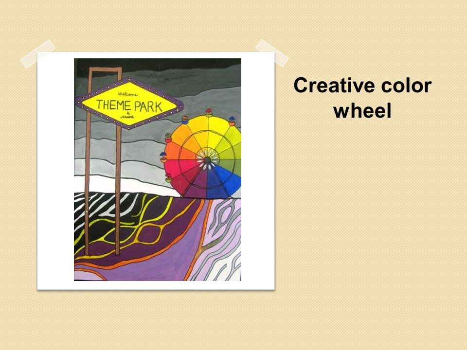 Creative color wheel what is your favorite color why do for Creative color wheel