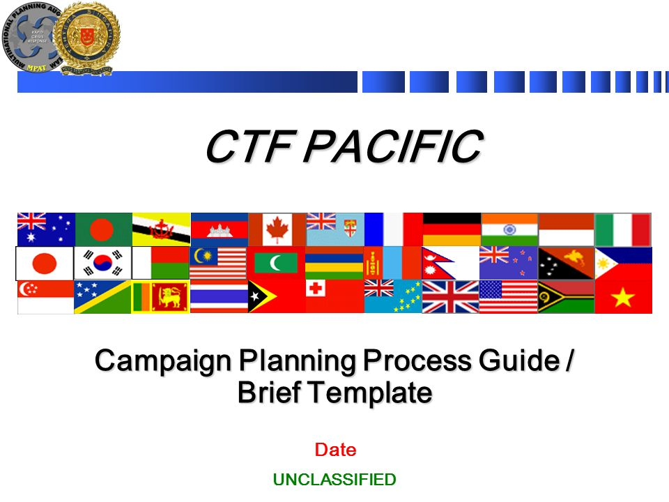campaign planning process guide brief template