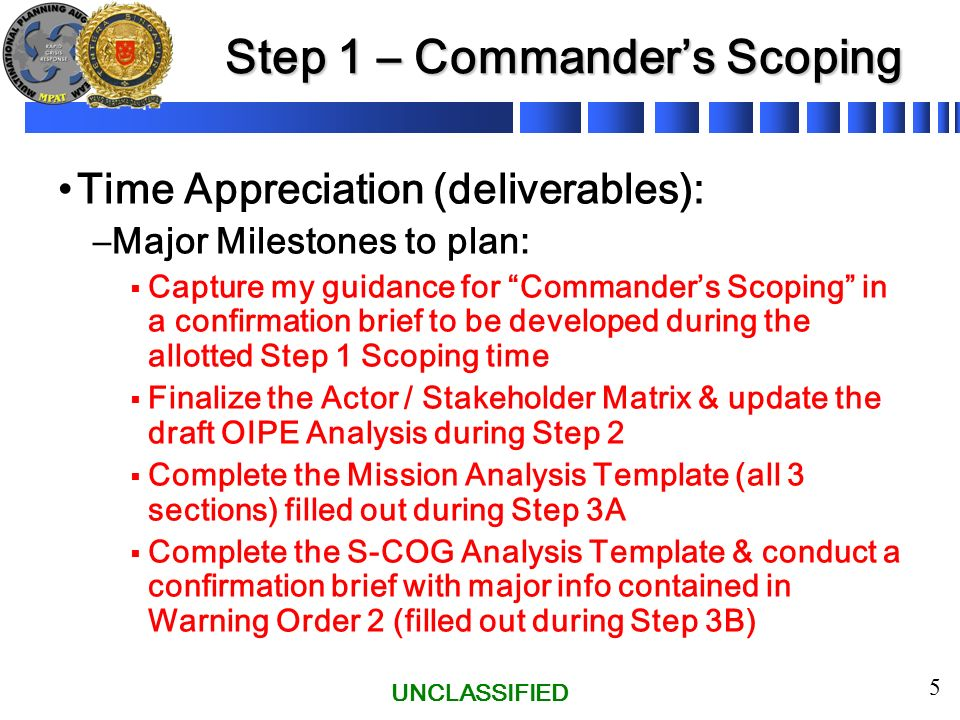 warning order template