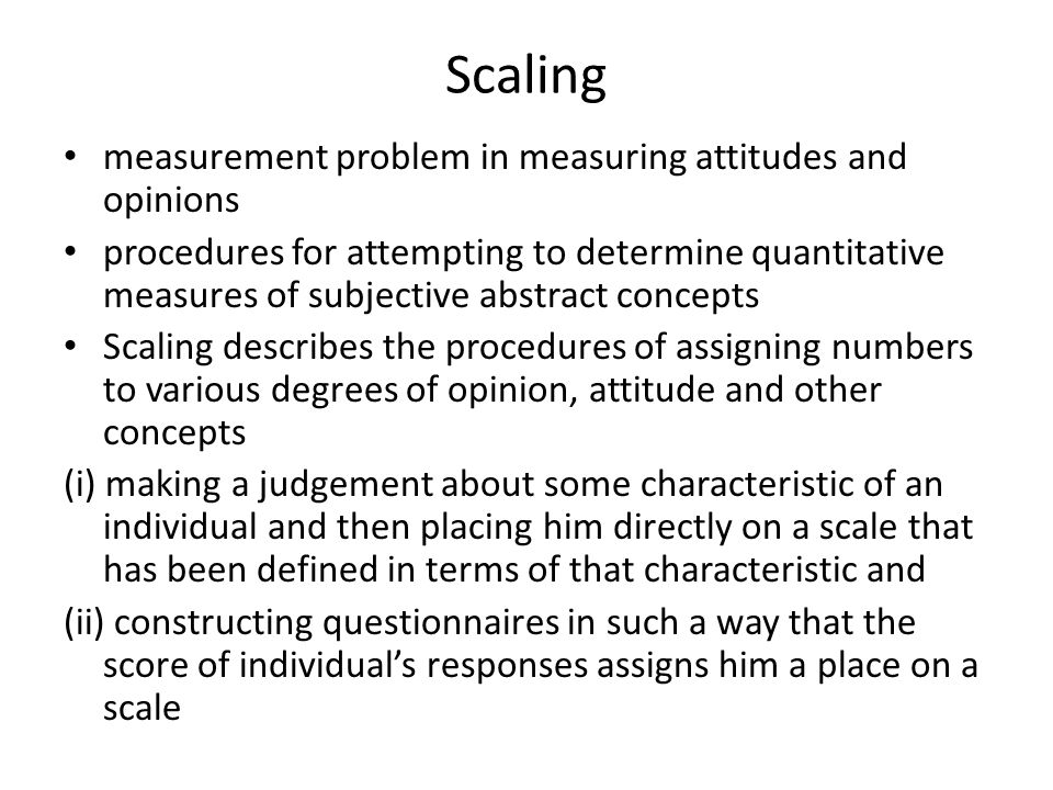"measurement and scaling concepts essay Teaching common geometrical concepts relating to measurement  measurement and scaling concepts  (""teaching geometrical concepts of measurement essay."