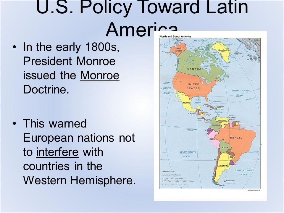 united states interference in latin american The united states has over and  this too often over-looked subject and area of the world the exposure that has been lacking in the discourse of latin american.