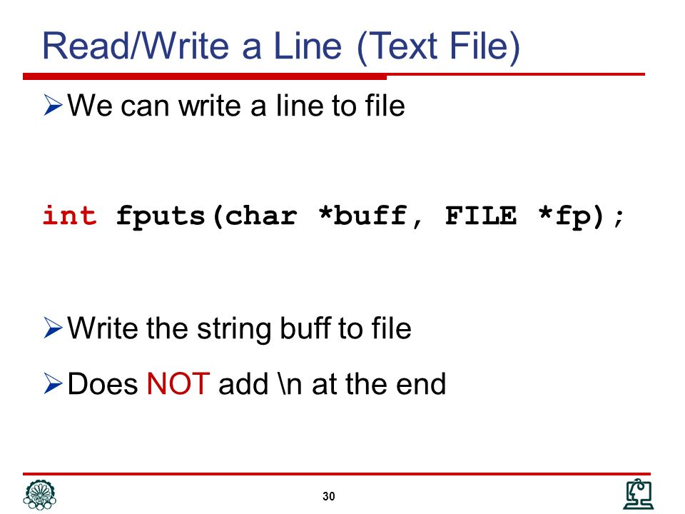 Cstdiofile write append text to string