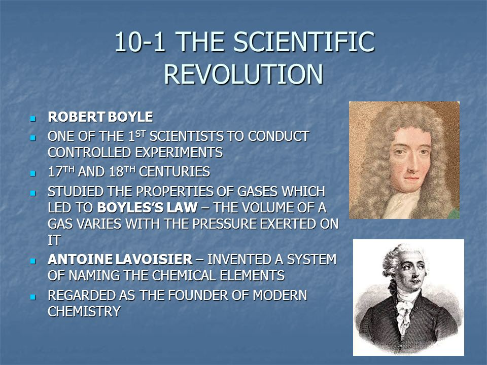 the scientific revolution of the 17th The scientific revolution outshines everything since  of the late 16th and 17th centuries the revolution itself  by the scientific.
