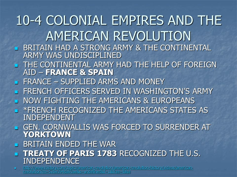 American revolutionary influences of the French revolution