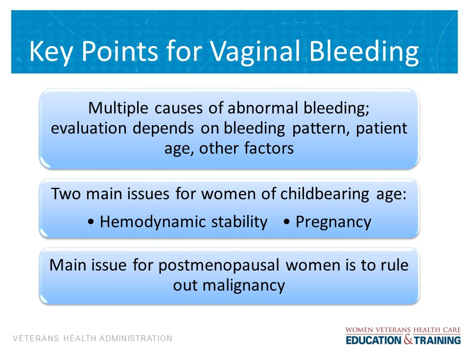 bleeding cause vaginal