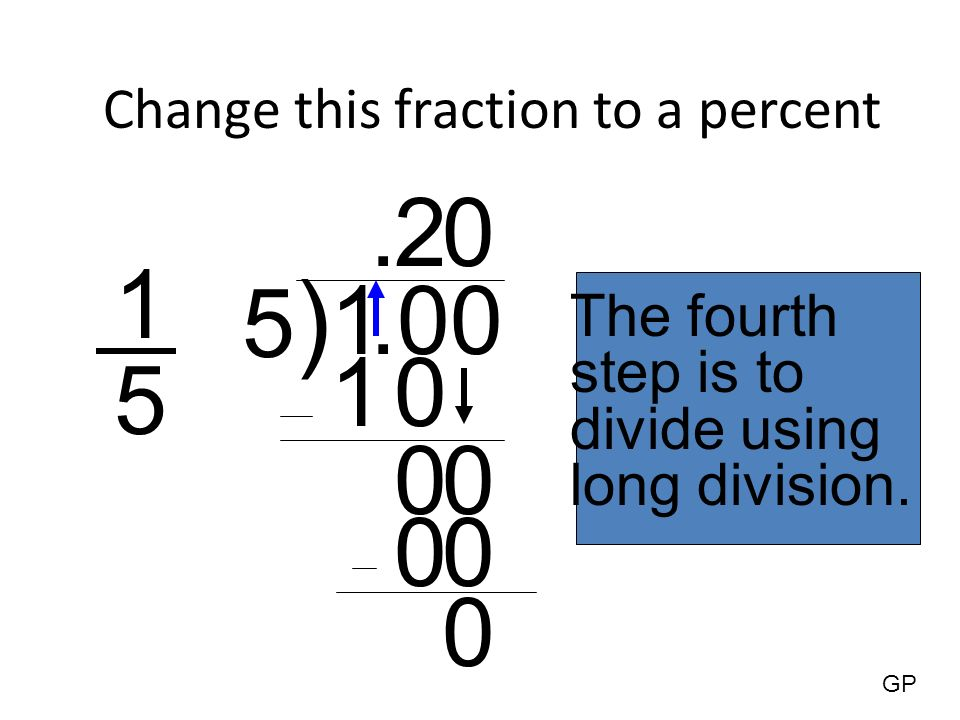 how to change a percent to a fraction webmath