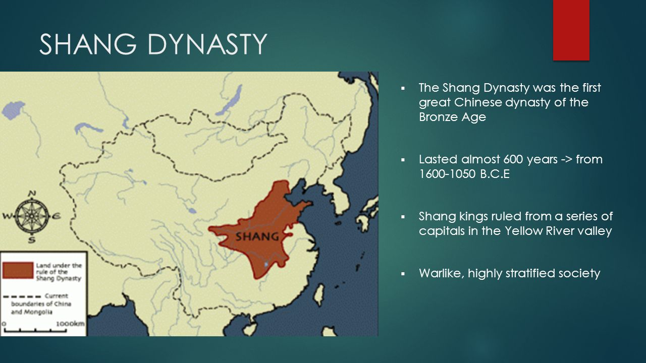 the shang dynasty Shang dynasty, also known as the yin dynasty, ruled a part of china during the bronze age for around 550 years from probably 1600 bc to 1046 bcit was founded by tang of shang who overthrew the last ruler of the preceding xia dynasty and came to an end after its last emperor di xin was defeated at the battle of muye by king wu, founder of the succeeding zhou dynasty.