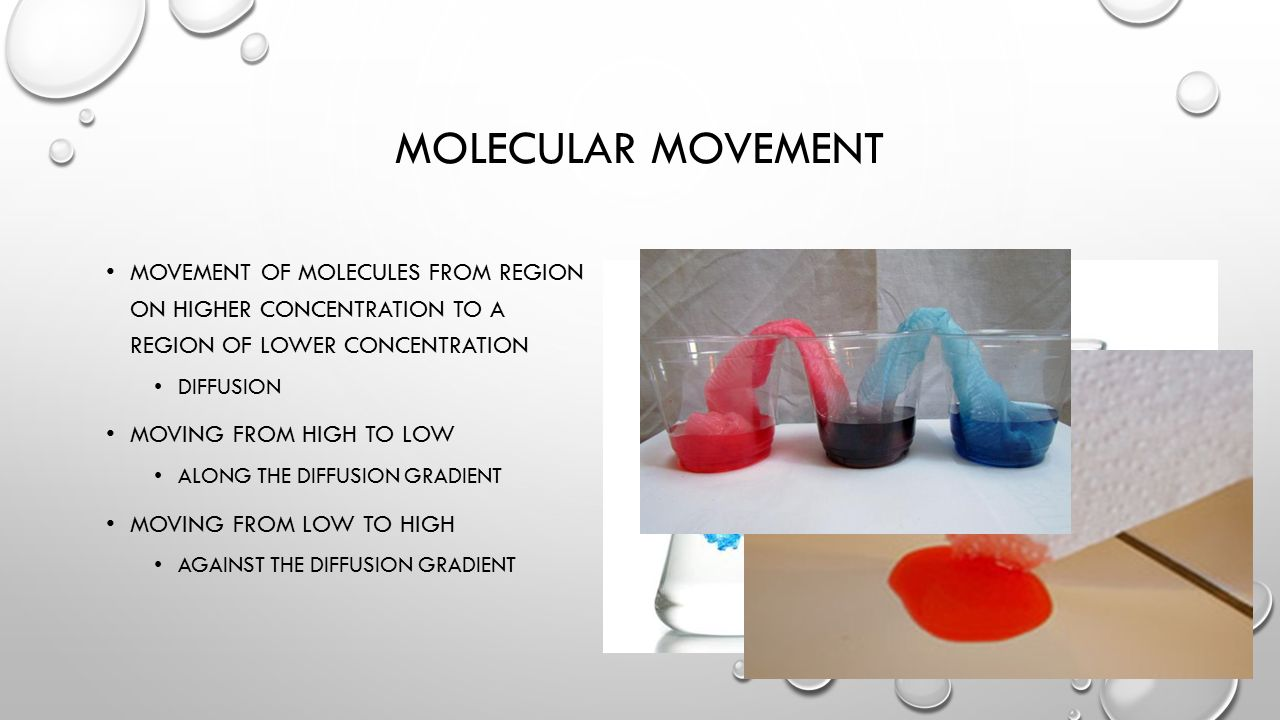 Osmotic pressure measurement may be used for the determination of molecular weights Osmotic pressure is an important factor affecting cells Osmoregulation is the homeostasis mechanism of an organism to reach balance in osmotic pressure Hypertonicity is the presence of a solution that causes cells to shrink Hypotonicity is the presence of a solution that causes cells to swell