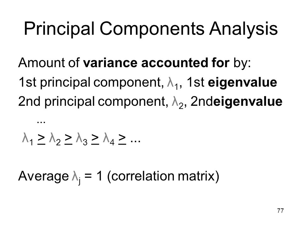 Principal Components Analysis: Application in Value at Risk and Expected Shortfall