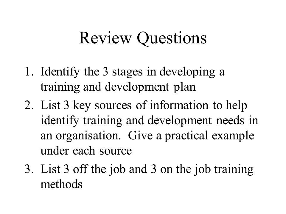 identify and explain four methods of job evaluation The intent for each of the job evaluation methods is the same  job evaluation needs to be based on current up to date job descriptions identify,.