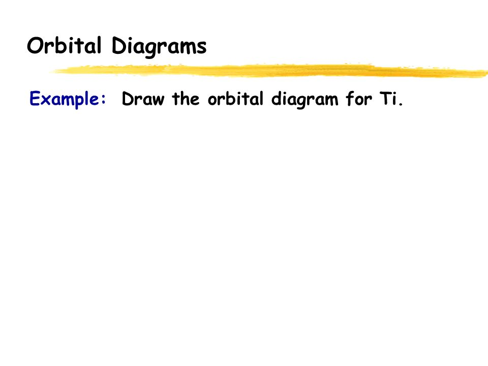 Orbital Diagrams Total Element Electrons H 1 He 2 Li 3 Be 4 1s 2s ...