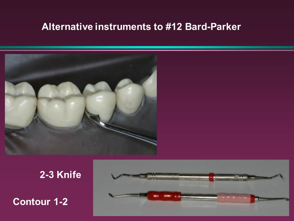 Alternative instruments to #12 Bard-Parker