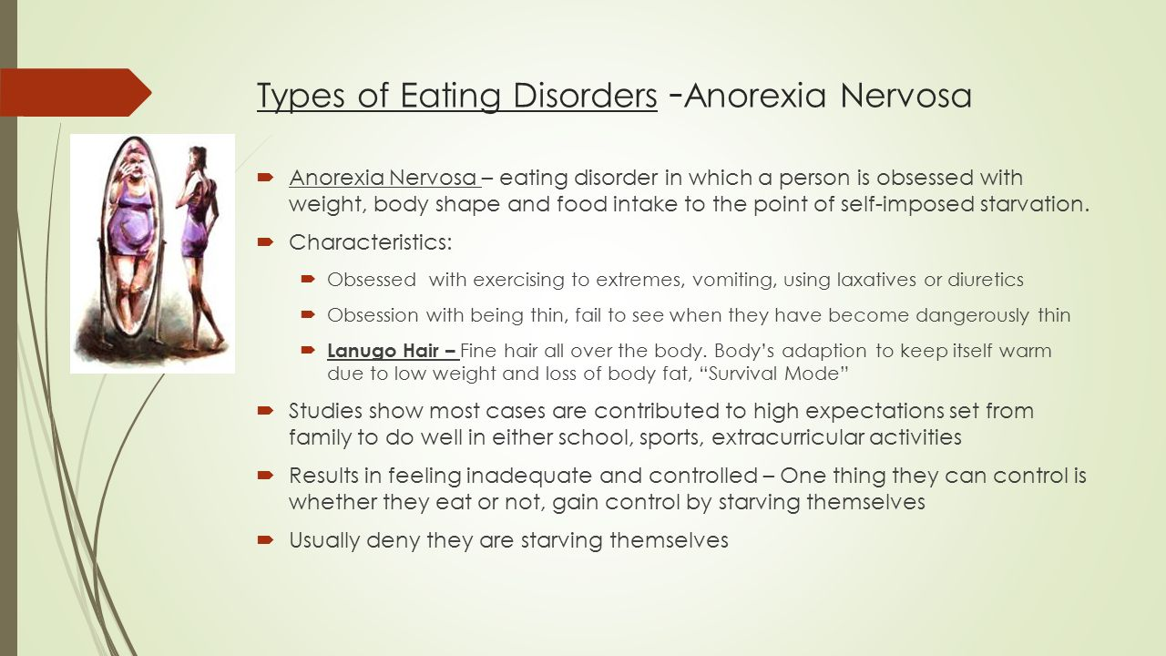eating disorders bulimia nervosa and anorexia