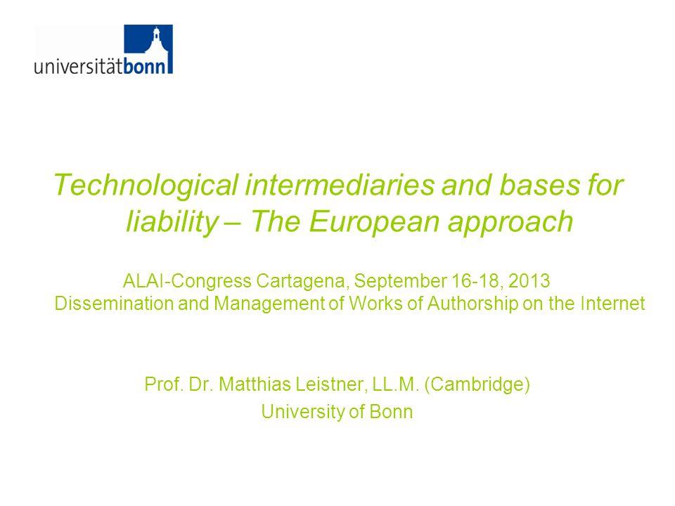 Prof. Dr. Matthias Leistner, LL.M. (Cambridge)