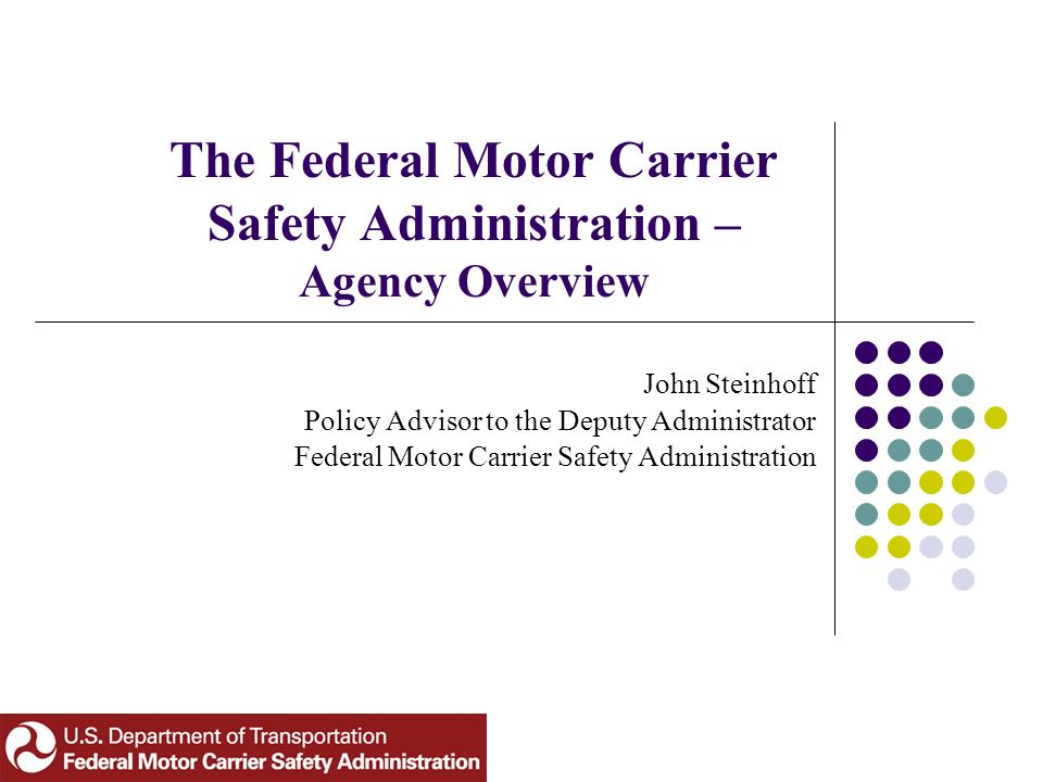 Texas motor carrier division for Federal motor carrier safety regulations pdf
