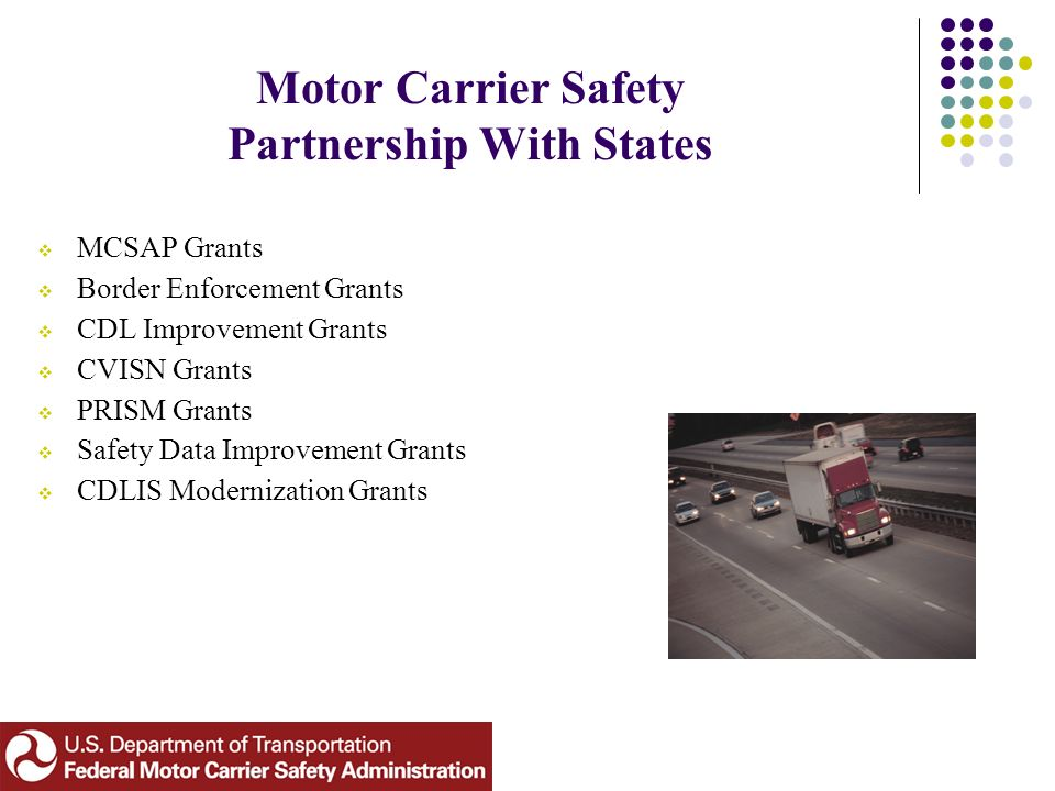 The federal motor carrier safety administration agency for What is the federal motor carrier safety regulations