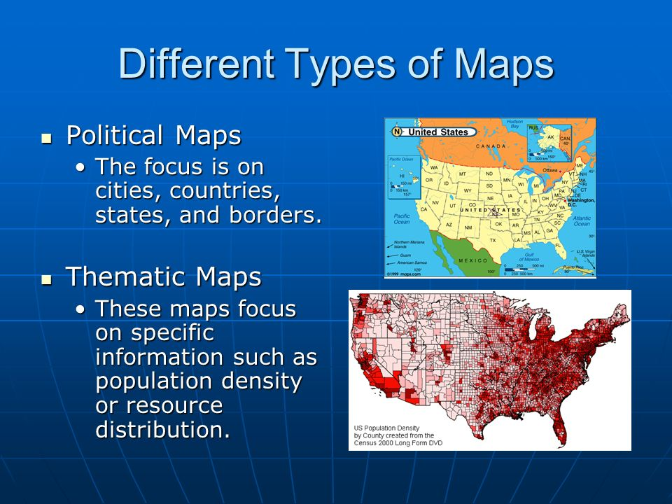 Maps And Map Skills US History Ppt Video Online Download - Different maps of the us