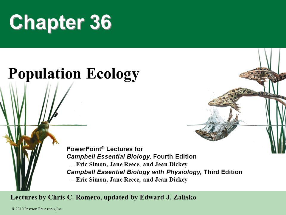 Grade 10 - Population Ecology