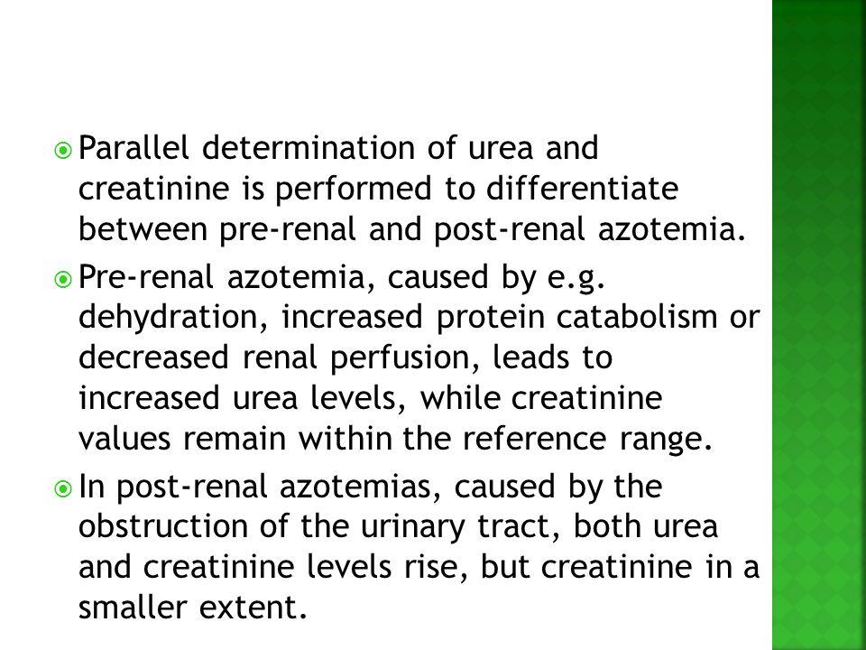 non protein nitrogen npn compounds urea creatinine uric acid ppt