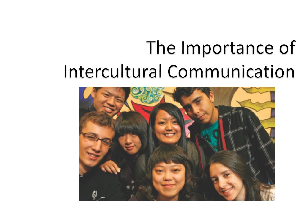 importance of culture to communication Why health communication is important in public health  health communication was allocated a chapter in the united states of  communication as culture: .