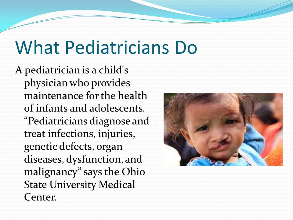 Pediatrician Description General Pediatrician Job Description