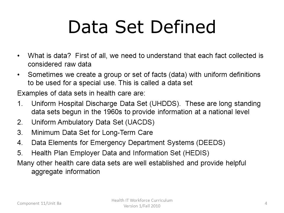Component 11 Unit 8a Introduction To Data Ppt Download
