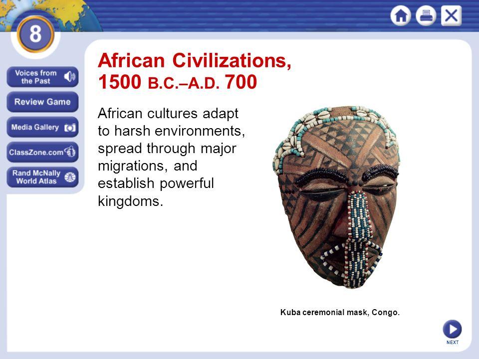 African civilizations 1500 bcad ppt video online download african civilizations 1500 bcad 700 publicscrutiny Choice Image