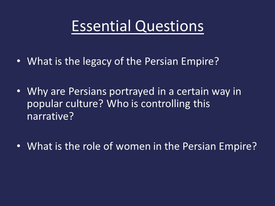 role of persians in the downfall Chapter four persian empire persians first to achieve a complex political organization during the end of the second millennium meds played a major role  downfall.
