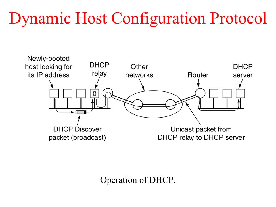 quiz dynamic host configuration protocol and Dynamic host configuration protocol (dhcp), defined in rfc 2131, is designed to provide configuration information to hosts over a tcp/ip network.