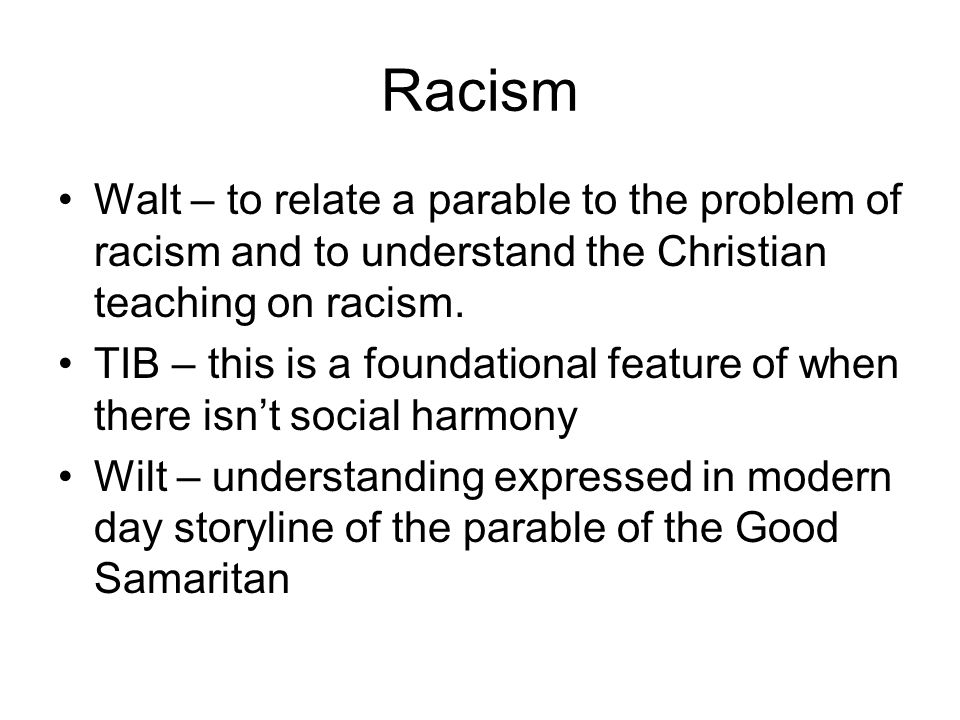 the problem of prejudice in society When it comes to racial bias, nurture trumped nature quite some time ago.