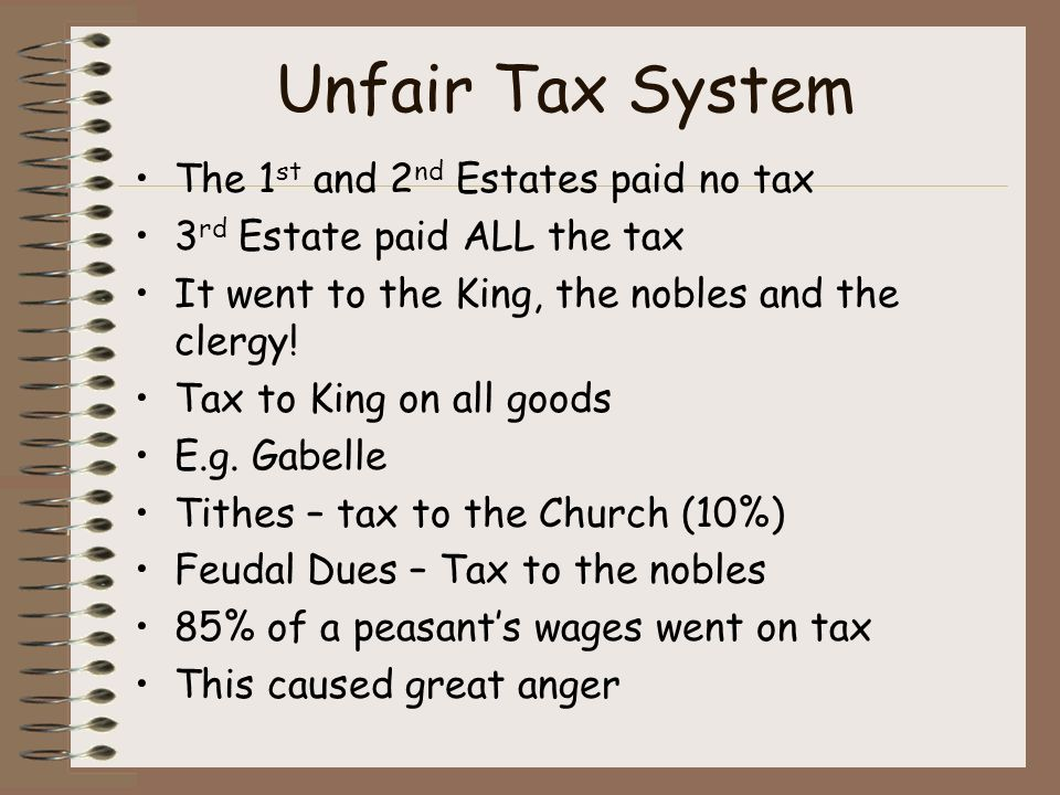 unfair taxes american revolution The american revolution was precipitated, in part, by a series of laws passed between 1763 and 1775 that regulating trade and taxes this legislation.