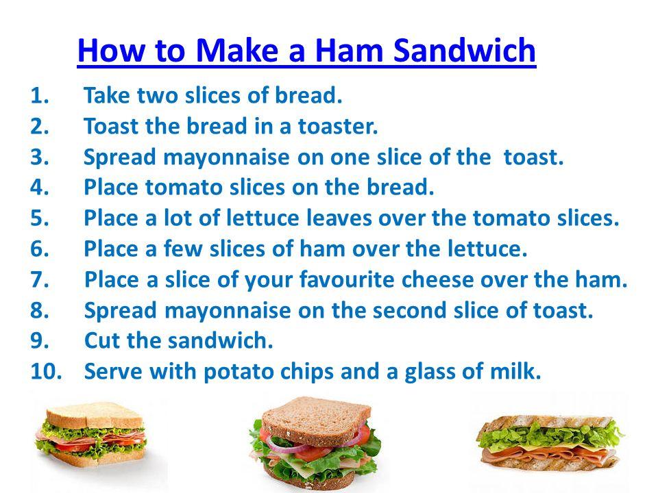 how to make sandwich choice image