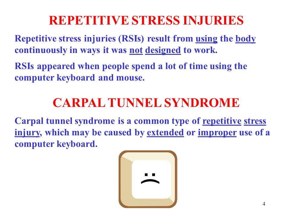 Carpal Tunnel Syndrome & Computers