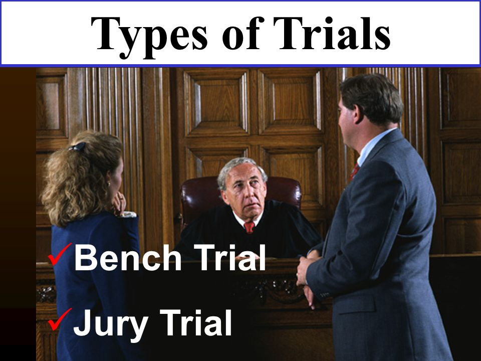 bench trial vs jury trial Should you demand a jury trial for a criminal case in virginia  possible way that our justice system can withstand bench trials (trial by a judge with no jury).