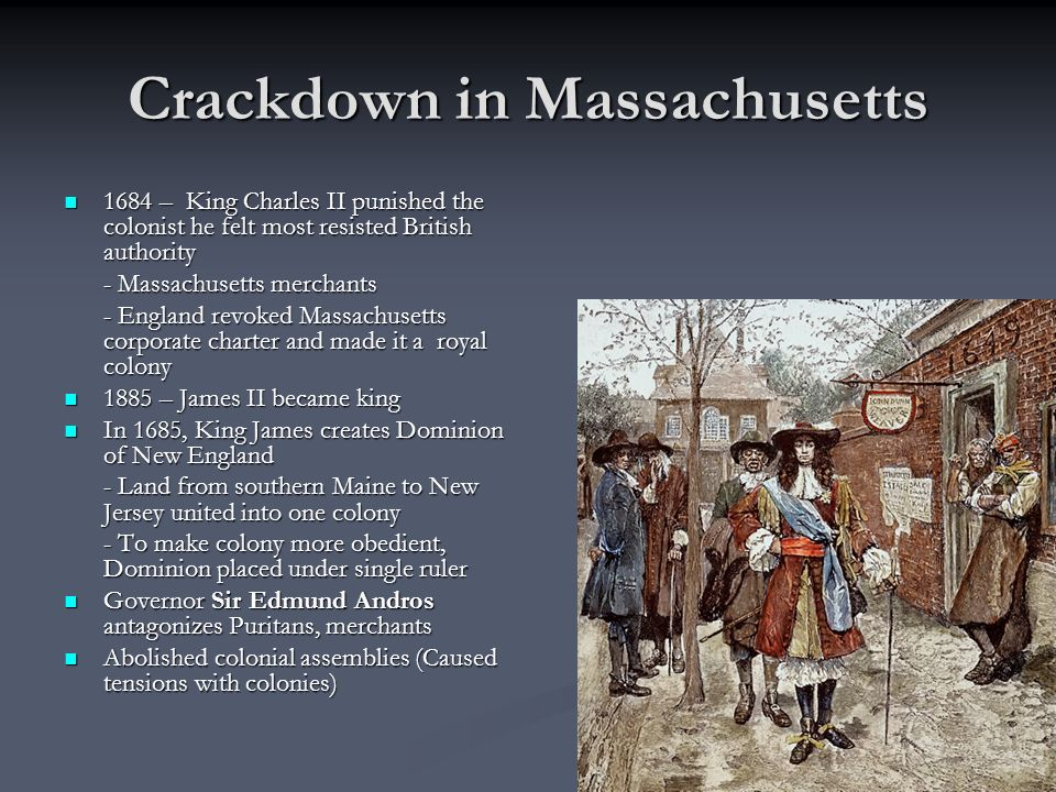 Crackdown in Massachusetts
