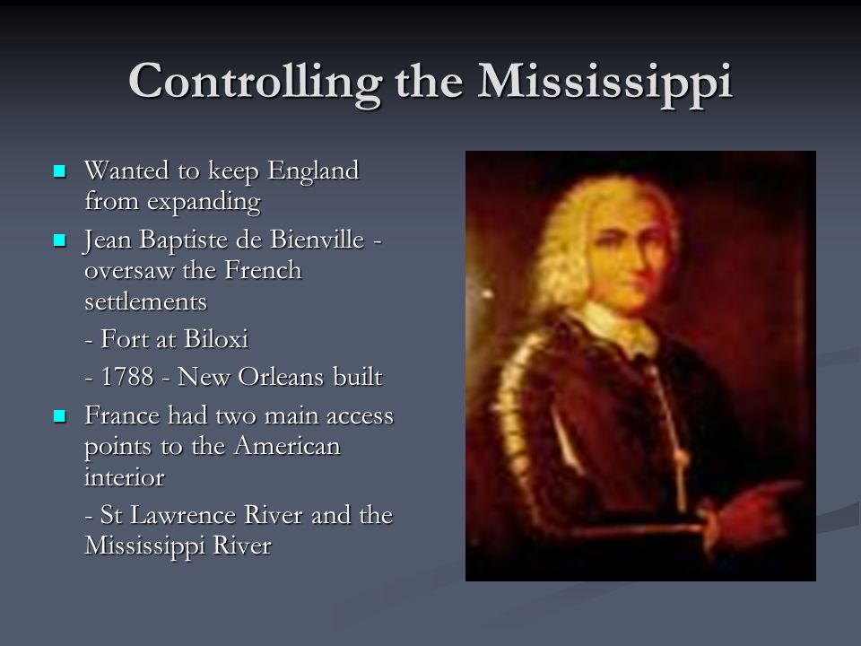 Controlling the Mississippi