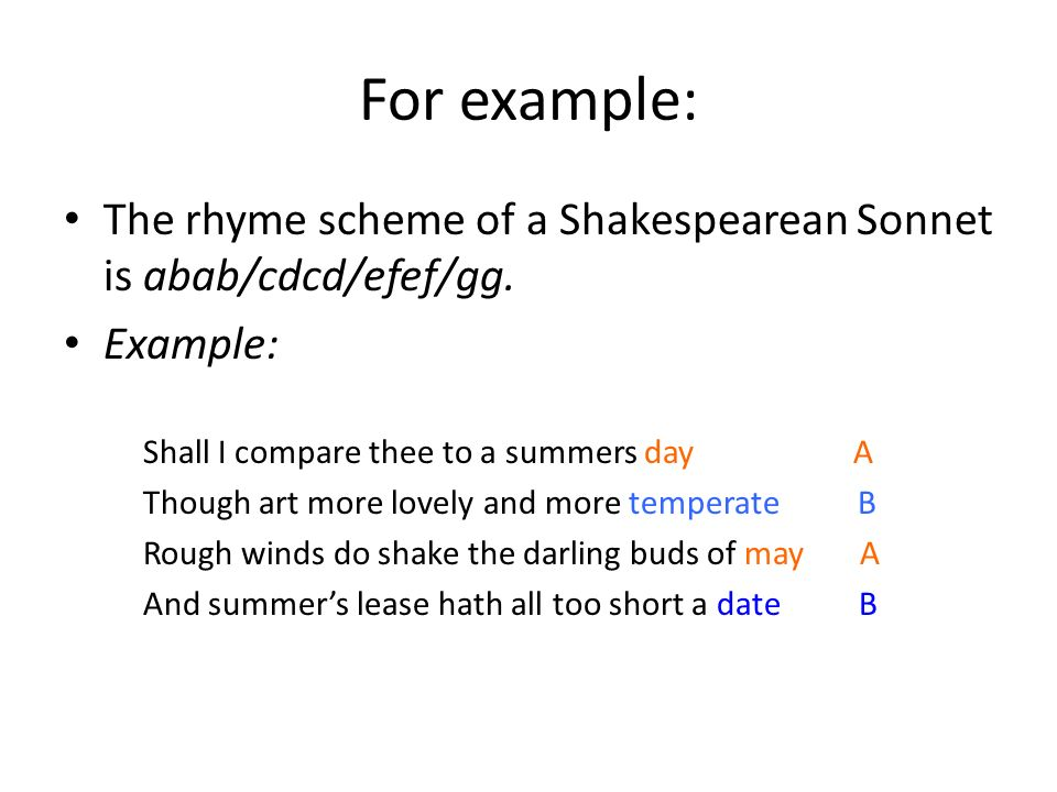 Introduction To Sonnets Ppt Download