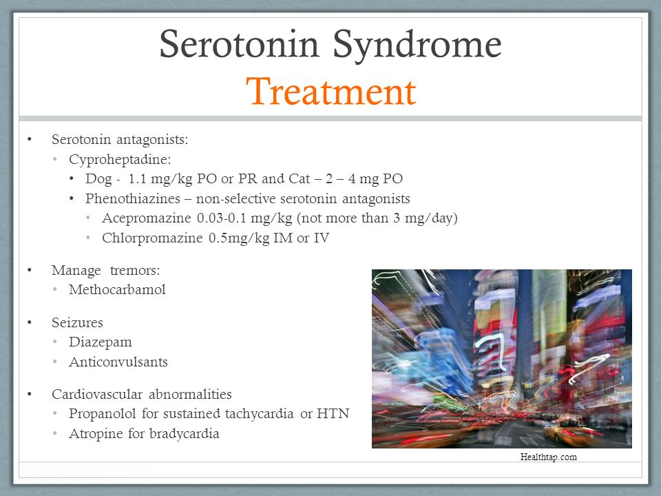 Serotonin Syndrome Treatment