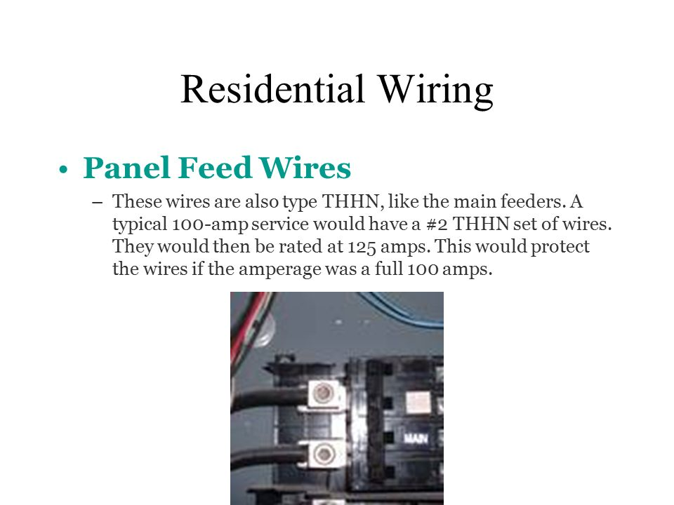 Electrical materials ppt video online download for 125 amp residential service wire size
