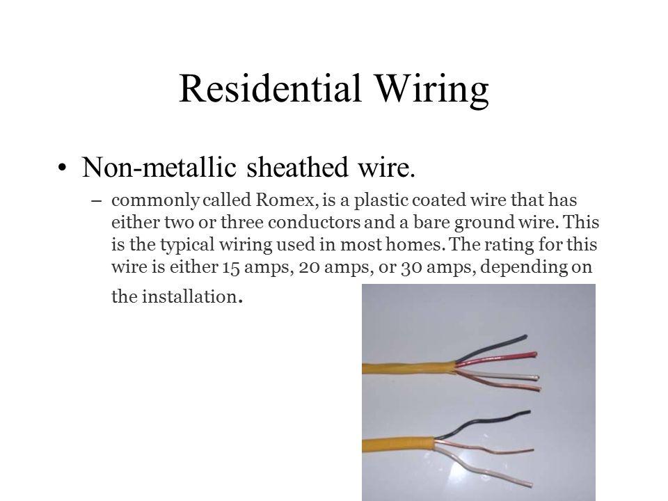 Unique Romex Wire Amps Vignette - Electrical Diagram Ideas - itseo.info