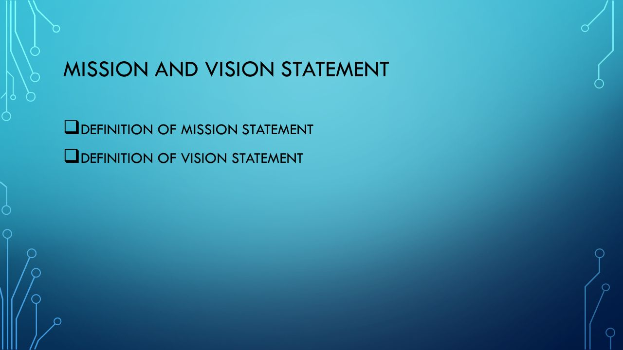 mission vision statement Project manager coach susanne madsen tells us how to create a powerful and sustainable mission and vision statement.