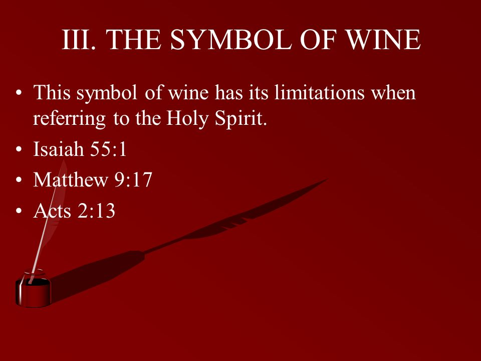 The Symbols Of The Holy Spirit Ppt Video Online Download