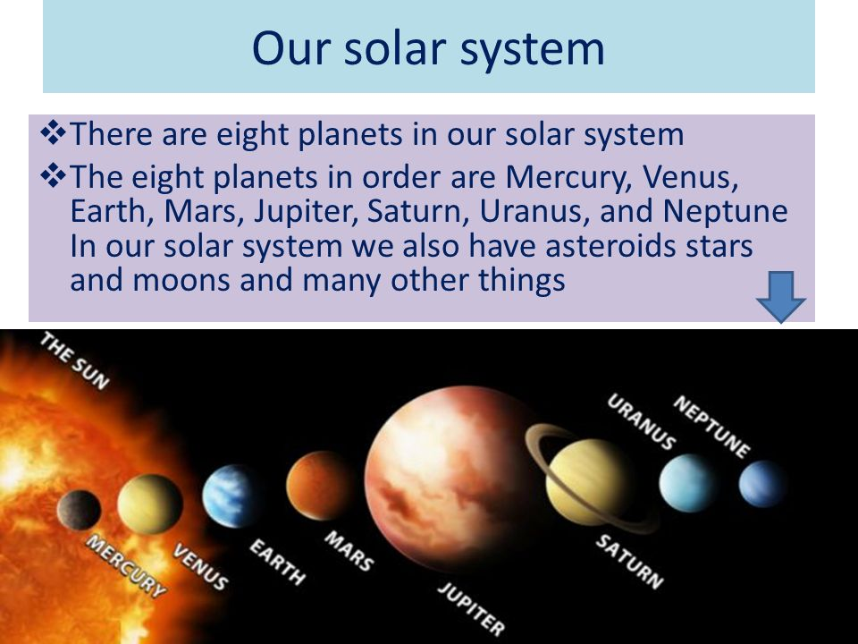 how many planets in our solar system - photo #18