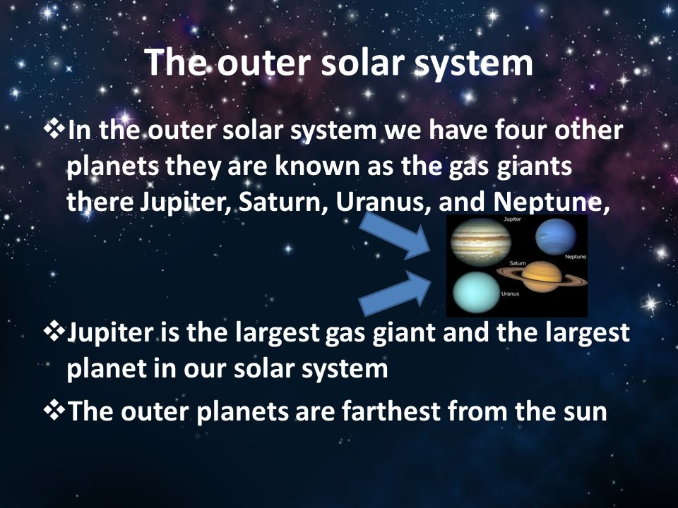 The PLANETS and the SOLAR SYSTEM - ppt video online download