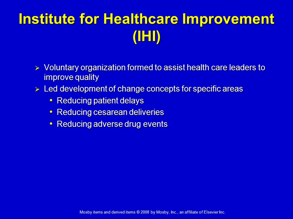 a model institute for healthcare National center for healthcare leadership health leadership competency model summary 1 the nchl health leadership competency model was created.