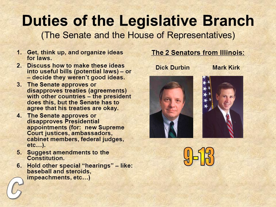 major roles of senators and representatives Also what are some of the differences between their roles what to they actually do besides represent their state or district thanks for the help.